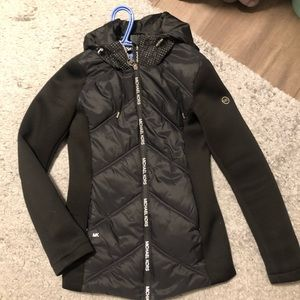 Black spring Michael Kors fitted jacket